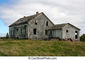abandonado, casa