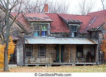 abandonado, house.
