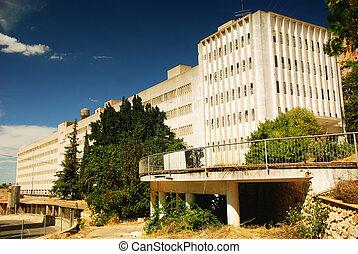 abandonado, industrial, edifícios