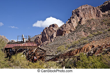 Abandonded Mine in Arizona
