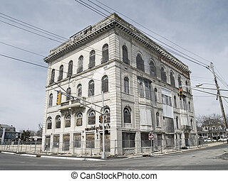 Abandoned - An old abandoned building in Asbury Park New ...
