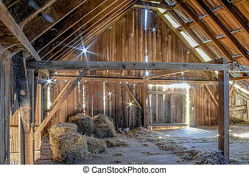 Abandoned Barn, Color Image, USA