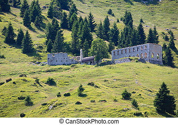 Abandoned barrack