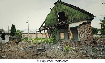 Abandoned Broken Houses