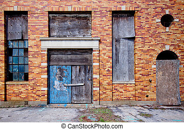 Abandoned Building Exterior