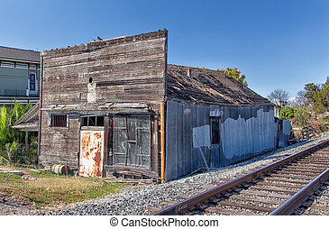 Abandoned Building in Alviso, California