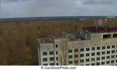 Abandoned City of Pripyat.Chernobyl