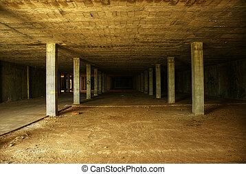 Abandoned construction