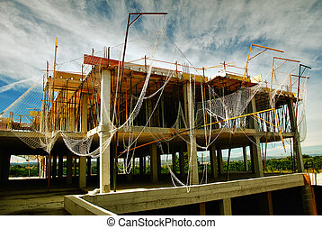 Abandoned construction in Spain - Abandoned modern ...