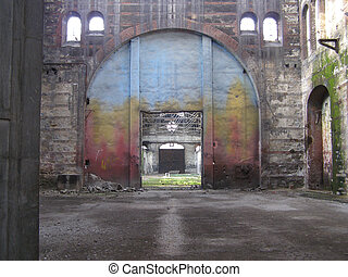 abandoned factory - Abandoned factory industrial archeology ...