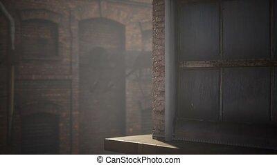 Abandoned Factory empty because of the coronavirus covid-19 ...