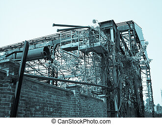 Abandoned factory industrial archeology architecture - cool...
