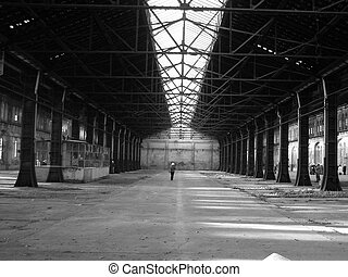 Abandoned factory industrial archeology architecture