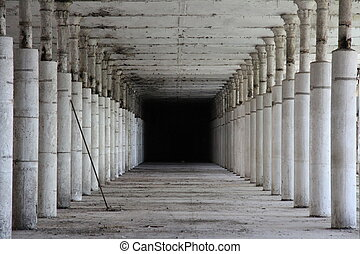 Abandoned factory - Interior of an abandoned factory in ...