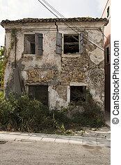 Abandoned house in greece