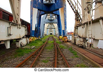 Abandoned Industrial Dock