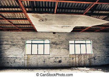 abandoned industrial