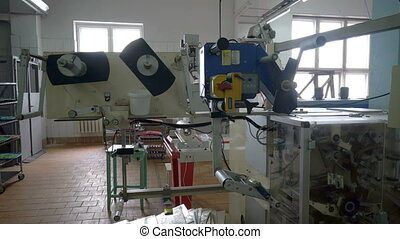 Abandoned laboratory with old faulty equipment - Volgograd,...