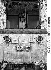 Abandoned locomotive