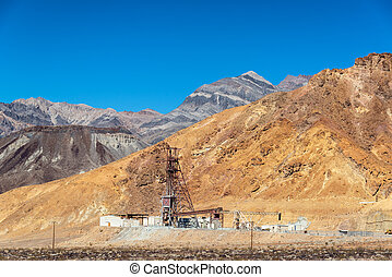 Abandoned Mine in Death Valley