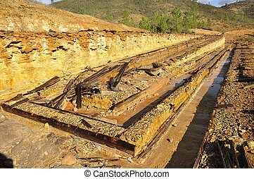 abandoned mineral mine