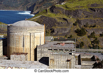 Abandoned Nuclear power station