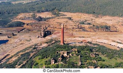 Abandoned Old Copper Extraction Mine - Abandoned Old Copper...