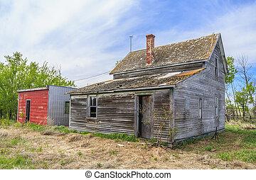 Abandoned Old Farm House