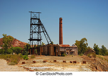 Abandoned old mine