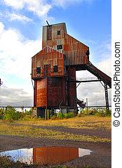 Abandoned Osceola Copper Mine Shaft