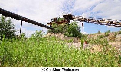 abandoned quarry,  panorama