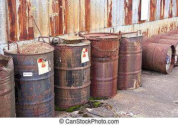radioactive waste - Abandoned radioactive waste