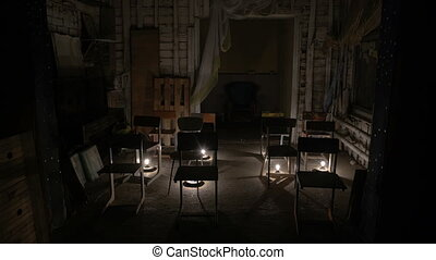 Abandoned school class, an abandoned audience - An abandoned...