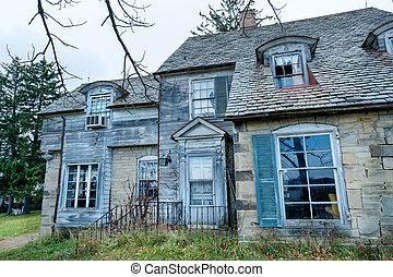 Abandoned spooky house