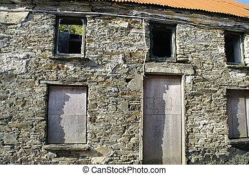 Abandoned Stone Cottage