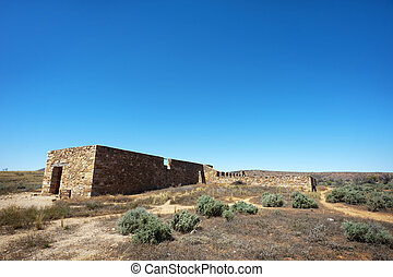 Abandoned Stone Ruins