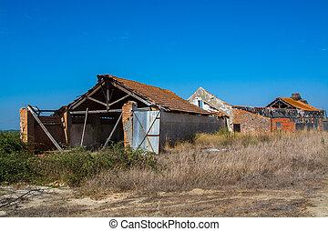 abandoned storehouse