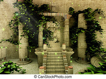 Abandoned Temple 4