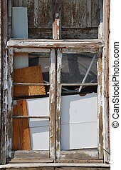 Abandoned window building