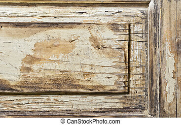 Abandoned wooden texture background