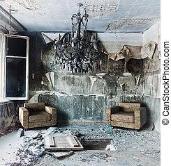 abandonnés, intérieur