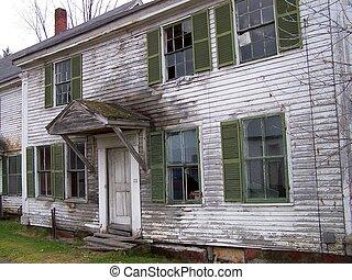 abandonnés, maison