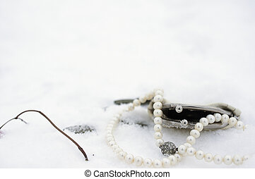 Abanoned Wallet On Snow