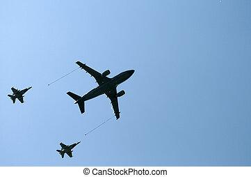 abastecer-se, in-flight