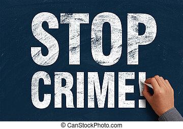 abbahagy, bűncselekmény