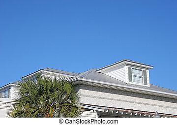 Tegolato rosso tetto abbaino immagini d 39 archivio for Versare piani casa dormer