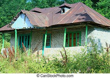 abbandonato, casa