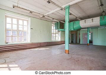 abbandonato, magazzino