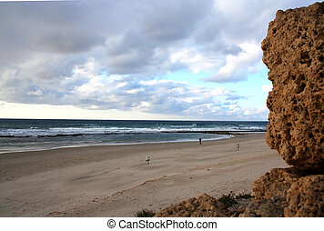 abbandonato, spiaggia