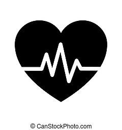 abbatacchiare, icona, cuore